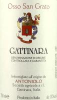 Voorvertoning: Osso San Grato Gattinara DOCG 2013 - Antoniolo
