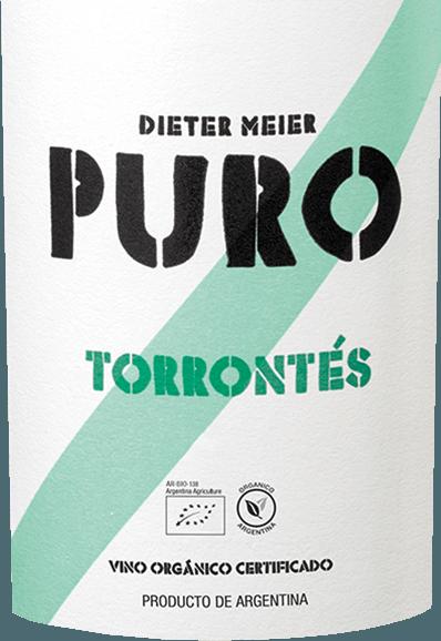De druiven voor Dieter Meier's frisse, varietal Puro Torrontés groeien op de hooggelegen wijngaarden van Cafayate. Een lichtgele kleur met groenige accenten glinstert in het glas. De neus onthult fruitig-bloemige aroma's van witvlezige perziken, sappige lychee en een hint van rozenblaadjes. Dit wordt vergezeld door hints van kruidige muskaatdruiven. Het gehemelte wordt verwend door een citrusachtig aroma - roze grapefruit en limoen presenteren zich met filigrane exotische nuances na sterfruit en lychee. De body is heerlijk fris en krachtig met een levendige zuurgraad die begeleidt in de elegante, zuur-fruitige afdronk. Vinificatie van de Dieter Meier Puro Torrontés De rijpe druiven groeien in de wijngaarden in Salta, die op ongeveer 1600 meter hoogte liggen. De rijpe Torrontés-druiven worden zorgvuldig vergist in stalen tanks. Deze Argentijnse witte wijn wordt gedurende 90 dagen uitsluitend in roestvrijstalen tanks gerijpt. Dit geeft deze wijn zijn sappige, fruitige en frisse karakter Spijs aanbeveling voor de Puro Torrontés Dieter Meier Serveer deze droge witte wijn uit Argentinië bij alle visgerechten of bij wit vlees, geitenkaas of vroege groenten in bladerdeeg. Maar ook als aperitief is deze wijn precies goed.