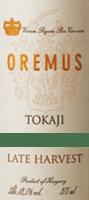 Voorvertoning: Tokaji Late Harvest Spätlese 0,5 l 2016 - Tokaj Oremus