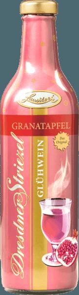 DeDresdner Striezel glühwein granaatappel van Lausitzer verrast met de klassieke smaak van de rozenwijn en de lichtzure toon van de granaatappel. Deze glühwein is bijzonder geschikt voor meidenavonden in het koude seizoen. Dresdens cultuur en winterse magie wordt op de fles vertegenwoordigd door het jacht- en barokkasteel Moritzburg, ooit het decor van een van de mooiste sprookjesfilms Stortingsvrij!