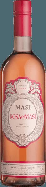 Rosé spreekt Italiaans Rosa dei Masi is een animerende rosé wijn die glinstert van een briljant zalmroze met kersenrode accenten. Hij verwent de neus met intense aroma's van rode wilde aardbeien en rijpe Amarena kersen. In de mond overtuigt de Rosa dei Masi van Masi Agricola met elegantie, een zachte body en intens fruit. Elegant in evenwicht door een levendige en frisse zuurgraad, worden de aroma's van de neus weerspiegeld in de heerlijk aangename en aanhoudende afdronk. Spijsadvies voor de Rosa dei Masi Rosato delle Venezie van Masi Agricola Een geweldig aperitief, maar past ook prachtig bij antipasti, lichte pastagerechten, zeevruchten of schelvis.