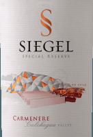 Voorvertoning: Special Reserve Carménère 2018 - Viña Siegel