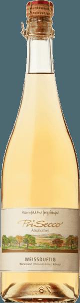 De PriSecco wit geurig van de manufactuur Jörg Geiger presenteert zich met een helder goudgeel en de intense aroma's van rijpe appels en vlierbloesem. Deze noten worden afgerond door kruidige tijm en andere kruiden. Deze alcoholvrije fruitcocktail verleidt in de mond met de fruitige zoetheid van appels, druiven en perziken en het pittige appelzuur. In de afdronk zijn tonen van vlierbloesem te bespeuren. Productie van de PriSecco wit geurige van de manufactuur Jörg Geiger De vruchten van de PriSecco komen van de landschapsvormende weiden aan de voet van de Zwabische Alb. Het sap van handgeplukte appels uit de biologische teelt vormt de basis voor deze alcoholvrije cocktail. Verdere ingrediënten zijn perensap, druivensapconcentraat, perziksap, citroensap en specerijen. Voedingsadvies voor de PriSecco wit geurig van de fabrikant Jörg Geiger Geniet van deze PriSecco bij desserts met vlierbloesem of exotisch fruit of bij verse geitenkaas met rozemarijn.