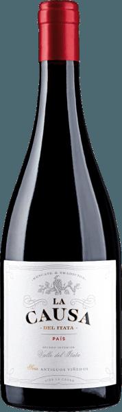 De single-varietal Pais van La Causaheeft zijn thuisbasis in de prachtige Valle del Itata - gelegen in het Chileense wijnbouwgebied Valle Sur In het glas is deze wijn helder robijnrood met kersenrode accenten. Het weelderige bouquet wordt gekenmerkt door zoete rijpe rode wilde bessen (vooral aardbei en framboos) en sappige kersen. De fruitaroma's worden ondersteund door fijne minerale hints en een kruidige hint van zoethout. Het gehemelte heeft een ronde en sappige body met, typisch voor de druivensoort, een stevige tanninestructuur en kruidig fruit. De frisse zuurgraad begeleidt in de aangenaam lange afdronk. Vinificatie van La Causa Pais De oogst van de optimaal gerijpte Pais-druiven voor deze rode wijn begint in april. Eenmaal in de wijnmakerij worden de druiven voorzichtig gekneusd, gemacereerd en gedurende 7 dagen bij een gecontroleerde temperatuur (22 tot 26 graden Celsius) gefermenteerd in roestvrijstalen tanks. Zodra de alcoholische gisting is voltooid, wordt deze rode wijn voorzichtig afgetapt en gedurende 12 maanden in Franse eiken vaten gelegd om te rijpen. Aanbevolen voedsel voor de Pais La Causa Geniet van deze droge rode wijn uit Chili bij allerlei salami en ham specialiteiten, geroosterd varkensvlees met knoedels en rode kool of bij kruidige stoofpotten en kruidige rijstgerechten.