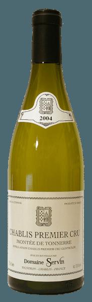 De Chablis Vaillons AOC Premier Cru van Domaine Servin heeft een glanzend kleed met grijsgroene reflecties.Het complexe, volle bouquet onthult florale en minerale aroma's, evenals tonen van wit fruit en citrus.De aroma's van het bouquet zijn ook waarneembaar in het krachtige, finesse-rijke gehemelte. Een lange, rijke en evenwichtige afdronk maakt deze wijn af. Lekker bij vis met botersaus, zeevruchten en kip met romige sauzen of lamsvlees.