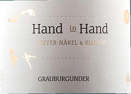 Hand in Hand Grauburgunder 2019 - Meyer-Näkel & Klumpp von Meyer-Näkel
