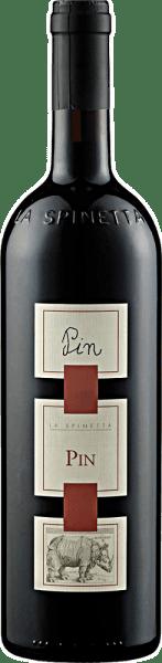 De Pin DOC van La Spinetta verschijnt in het glas in een sterk baksteenrood en betovert met zijn krachtige bouquet, dat wordt gedomineerd door de bessenaroma's van frambozen, bramen en aalbessen. Deze bessennoten worden ondersteund door subtiele nuances van eucalyptus en munt. Deze cuvée van de druivenrassen Nebbiolo en Barbera is een complexe en diepgaande rode wijn uit Italië met een groot karakter. Spijsadvies voor de Pin DOC van La Spinetta Geniet van deze droge rode wijn bij stevige gerechten met varkens- en rundvlees, gegrild vlees en gebraad, lamsvlees en wild of bij sterke kazen. Onderscheidingen voor de Pin DOC van La Spinetta Gambero Rosso: 3 glazen (oogstjaar 2006) Gambero Rosso: 2 glazen (jaargangen 2004, 2007, 2011, 2012, 2013, 2014) Deze magnumfles wordt geleverd in een decoratieve houten kist.