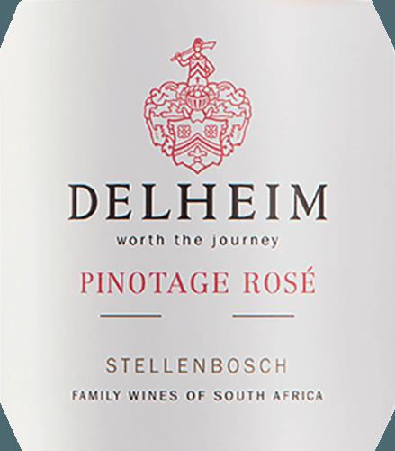 """De Pinotage Rosé van Delheim Wines toont zich in een levendig helder roze. Het unieke dichte, geurige bouquet van deze roséwijn uit Zuid-Afrika doet denken aan een fruitmand gevuld met zoete rode frambozen, veenbessen, wilde aardbeien en sappige lichtzoete kersen. In de mond is deze Pinotage Rosé fris, fruitig, sappig en rond. De frisse fruitzuren worden gecompenseerd door een subtiele, heerlijk smeltende zoetheid, die deze rosé uit de Kaap perfect in balans brengt. Vinificatie van de Pinotage Rosé van Delheim Deze klassieker wordt sinds 1976 gevinifieerd. Indertijd creëerden Michael """"Spatz"""" Sperling en zijn vrouw Vera een echte klassieker toen zij in het eerste wijnjaar de Pinotage Rosé creëerden. Regelmatige onderscheidingen en de meervoudige prijs als beste rosé van het jaar (vakblad Weinwirtschaft), hebben van uw Pinotage Rosé een legende gemaakt.De Pinotage-druiven voor deze wijn groeien op expressieve klei- en zandgronden in de Muldersvlei Bowl-gemeenschap in het legendarische teeltgebied Stellenbosch. De Delheim Rosé wordt voornamelijk gevinifieerd van de rode wijndruif Pinotage, die bijzonder typisch is voor Zuid-Afrika, met toevoeging van een klein deel geurige Muscat-druiven. De druiven worden met de hand geoogst en nogmaals geselecteerd voordat ze worden geweekt. De bessen worden vervolgens geplet, de most wordt slechts korte tijd op de schillen gelaten en de zachtroze most wordt vervolgens gefermenteerd. Spijs aanbeveling voor de Delheim Pinotage Rosé Geniet van deze rosé solo als aperitief of bij ceviche, gele pepersoep, chorizo carbonara en kalkoen gyros. Deze charmante rosé is gemaakt van 90% Pinotage en 10% Muscat."""