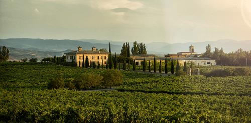 The Spanish winery Torre de Oña in Rioja