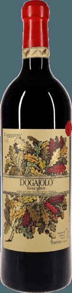 De baby Supertuscan klassieker van Carpineto. In de indrukwekkende dubbele magnumfles is de Dogajolo Rosso bijzonder bewaarbaar.