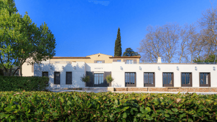 Chateau Minuty in the Provence