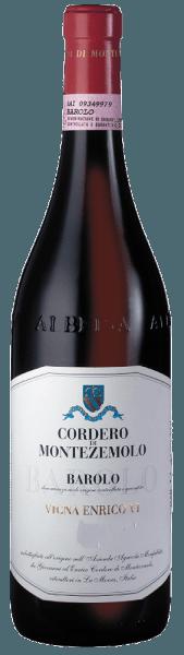 """Deze 100% Nebbiolo wordt geproduceerd in de historische enige wijngaard """"Hendrik de Zesde"""" in Casteglione Falletto. Een geweldige Barolo met een uitgesproken smaak en aroma. Hij verwent met een lange afdronk, veel substantie en een imposante tannine. Een rode wijn, die zeer geschikt is om lang te bewaren en zijn hoogtepunt bereikt na 10 jaar. Food Pairing / Voedingsadvies voor de Barolo DOCG Enrico VI van Cordero di MontezemoloDeze wijn gaat bijzonder goed samen met kaas, sterke pastagerechten, wild of donker vlees. Prijzen van de Barolo DOCG Enrico VI van Cordero di MontezemoloSteven Tanzer: 94 Pts (Yr. 09), 92+ Pts (Yr. 08)Antonio Galloni: 94 + Pts (Yr. 10)James Suckling: 96 pts. (jr. 10), 93 pts. (jr. 09 en 08) Parker Points - Wine Advocate: 94 pts. (jr. 09), 93+ pts. (jr. 08)Wine Spectator: 94 pts. (jr. 08)"""