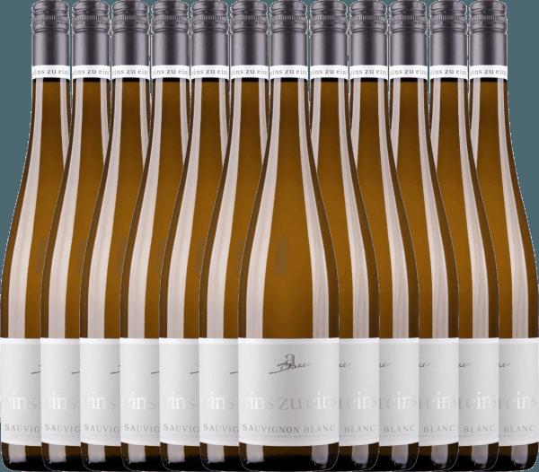 12er Vorteils-Weinpaket - Sauvignon Blanc eins zu eins 2020 - A. Diehl