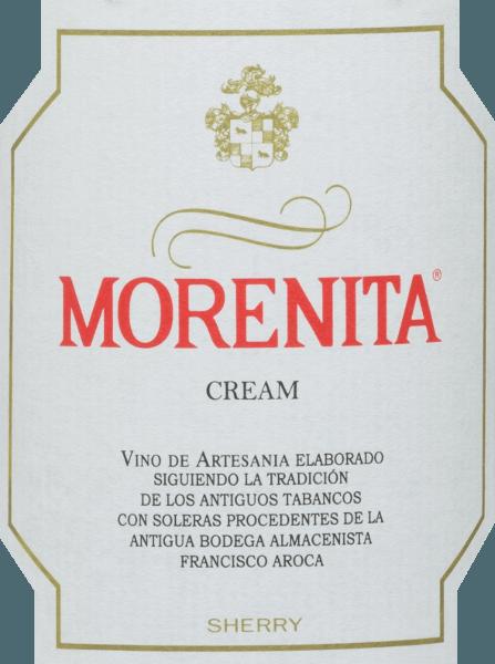 De Morenita Cream van Emilio Hidalgo is een heerlijk zoete sherry van de druivensoorten Palominon (70%) en Pedro Ximénez (30%). In het glas onthult hij een intense amberkleur met gouden glinsteringen. Een zuiver, delicaat bouquet met hints van karamel, gedroogd fruit, nootachtige noten en mokka verrijkt de neus. Zacht en elegant ligt deze sherry in de mond en overtuigt met zijn mooi uitgebalanceerde zoetheid en tegelijkertijd een licht verfrissende smaak. De afdronk heeft een aangename lengte. Vinificatie van de Crème Hidalgo Morenita De met de hand geplukte druiven worden ontsteeld, voorzichtig geperst en de resulterende most wordt gefermenteerd in roestvrijstalen tanks onder temperatuurcontrole. De jonge wijn wordt vervolgens afgetapt, versterkt en in Amerikaanse eiken vaten gelegd om te rijpen. Nadat de wijn zonder gist heeft gerijpt, wordt hij overgebracht naar het traditionele solera-systeem, waarbij sherry's van hetzelfde type in boven elkaar geplaatste vaten worden gerijpt. De oudste wijnen worden opgeslagen in de onderste vaten (Solera), terwijl de jongste wijnen worden opgeslagen in de bovenste rijen (Criaderas). De sherry bestemd voor de verkoop wordt altijd uit de onderste vaten gehaald. Hier wordt echter slechts een klein deel (maximaal een derde) genomen en het genomen deel wordt vervolgens opgevuld met sherry uit de bovenste rijen. Het hele principe wordt voortgezet tot in de bovenste vaten, waar jonge wijn, de Mosto, aan de sherry wordt toegevoegd. De oloroso, die onder oxiderende invloed ontstaat, wordt vervolgens vermengd met een van nature zoete wijn. Aanbevolen voedsel voor de Morenita Cream Emilio Hidalgo Er zijn geen grenzen aan de mogelijkheden om ervan te genieten: Deze zoete sherry uit Spanje wordt aanbevolen om puur te drinken, maar ook als aperitief, bij tapas & canapés en als dessertwijn.