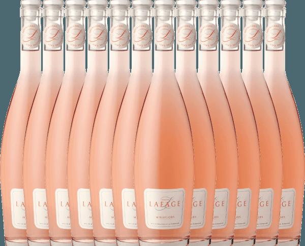 12er Vorteils-Weinpaket - Miraflors Rosé 2020 - Domaine Lafage