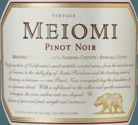 Voorvertoning: Pinot Noir 2019 - Meiomi Wines