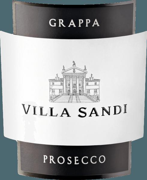 De Grappa di Prosecco van Villa Sandi lijkt kristalhelder in het glas. Het delicate en verfijnde bouquet bevat een harmonieuze noot van berghoning klaar, met bloemige en fruitige hints. De smaak is warm, harmonieus, aromatisch en wordt afgerond met een delicate nasmaak. Het smaakt heerlijk met Italiaanse koffie.