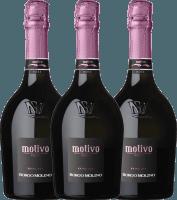 3er Vorteils-Weinpaket - Motivo Rosé extra dry - Borgo Molino