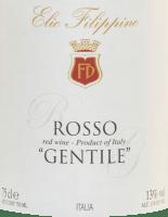 Voorvertoning: Rosso Gentile 2018 - Elio Filippino