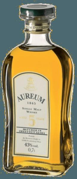 De Aureum Chestnut Single Malt Whisky van Ziegler toont in het glas een goudbruine kleur en inspireert door zijn zachtheid en mildheid, die gepaard gaan met een subtiele zoetheid. De ronde afdronk is elegant en aromatisch. Serveertips voor de Ziegler Aureum Kastanje Geniet van deze whisky als digestief, bij espresso of chocolade.