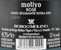 Voorvertoning: Motivo Rosé extra dry - Borgo Molino