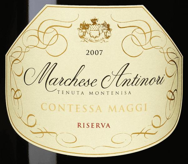 Marchese Antinori Contessa Maggi Riseva Franciacorta DOCG 2007 - Tenuta Montenisa von Tenuta Montenisa Marchese Antinori