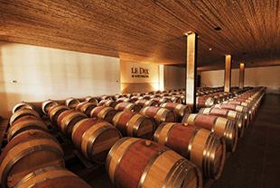 The wine cellar of Vina Los Vascos