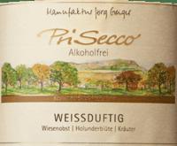 Voorvertoning: PriSecco weißduftig - Manufaktur Jörg Geiger