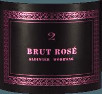 Voorvertoning: Brut Rosé 2 Sekt - Aldinger - Wöhrwag