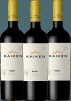 3er Vorteils-Weinpaket - Kaiken Malbec 2018 - Viña Kaiken
