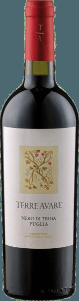 De Nero di Troia IGT van Terre Avare toont zich in het glas met een krachtig kersenrood, terwijl hij zijn indrukwekkende bouquet ontvouwt met de aroma's van rijpe bosbessen en sappige kersen. Deze rode wijn uit Apulië betovert in de mond met zijn harmonieuze samenspel van fruit, frisheid en elegante tannines. Een bezielende en harmonieuze algemene indruk van deze wijn gaat over in een frisse en fruitige afdronk. Spijsadvies voor de Nero di Troia IGT van Terre Avare Geniet van deze droge rode wijn bij de klassiekers van de Italiaanse keuken - pizza en pasta. Prijzen voor de Nero di Troia IGT van Terre Avare Mundus Vini: Zilver (Vintage 2015)
