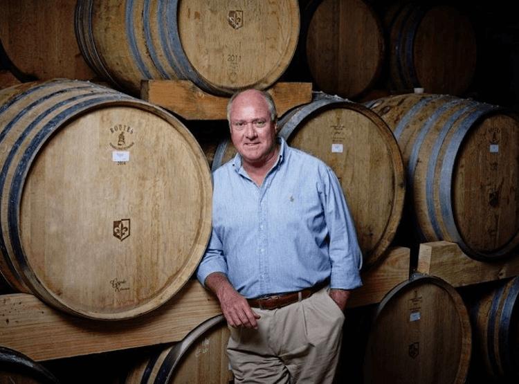The winemaker and owner Neil Ellis