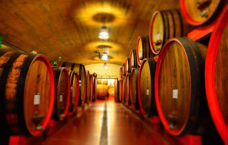 Citra wooden barrel cellar