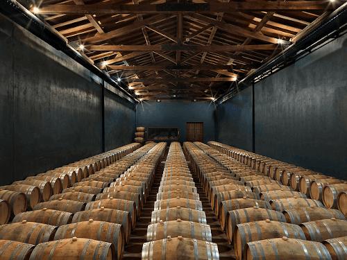 The wine cellar of Torre de Oña