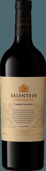 De Barrel Selection Cabernet Sauvignon van Bodegas Salentein toont een bijna zwarte kleur in het glas, zo donker en dicht is de paarse wijn. Hijinspireert de neus met een veelgelaagd bouquet en verleidt met een aroma van rood en zwart fruit. Op de voorgrond staan zwarte bessen, cassis en braambes, gevolgd door wat vlierbes. Een nuance van tabak en fijne vatnoten van vanille, kaneel en ceder completeren de algemene indruk. In de mond is de Barrel Selection Cabernet Sauvignon van Salentein elegant, fluweelzacht en krachtig. De zeer lange afdronk is stevig en even elegant. Spijsadvies voor de Barrel Selection Cabernet Sauvignon van Bodegas Salentein Geniet van deze droge rode wijn bij wildgerechten, bijvoorbeeld gebraden hertenvlees met rode kool en knoedels, bij rijpe harde kaas, pasta al forno of ook bij fijne pure chocolade.