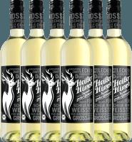 6-pack - White organic mulled wine - Heißer Hirsch