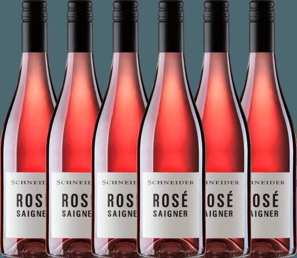 6er Vorteils-Weinpaket - Saigner Rosé trocken 2019 - Markus Schneider