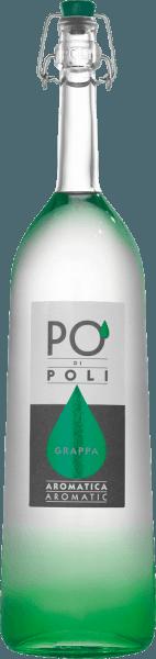 Po' di Poli Aromatica van Jacopo Poli is een aromatische grappa met een volle smaak, gedistilleerd uit de druivendraf van de Traminer-druif. In het glas presenteert deze Italiaanse druivendraf-eau-de-vie zich met een heldere, transparante kleur. Het intense bouquet onthult aroma's van zoete rozijnen, subtiele hints van peper en fijne balsamico kruidnuances. In de mond is deze grappa heerlijk vol met een strakke structuur. De finale wacht met een heerlijk aroma en lengte. Distillatie van de Jacopo Poli Po' di Poli Aromatica De nog verse draf van de Traminer druif wordt op traditionele wijze gedistilleerd in oude koperen distilleerketels. Na het distillatieproces heeft deze Grappa nog 75 Vol%. Door toevoeging van gedistilleerd water bereikt deze druivendraf-eau-de-vie een alcoholgehalte van 40% vol. Daarna rust deze grappa in totaal 6 maanden in roestvrijstalen tanks om uiteindelijk zacht gefilterd te worden gebotteld. Serveeradvies voor dePo' di Poli Aromatica Jacopo Poli Grappa Bij een temperatuur van 10 tot 15 graden komen de veelzijdige aroma's het best tot hun recht. Bij een afsluiting van een heerlijk menu past deze Grappa uitstekend.