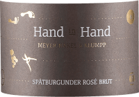 Voorvertoning: Hand in Hand Spätburgunder Rosé Sekt brut 2019 - Meyer-Näkel & Klumpp