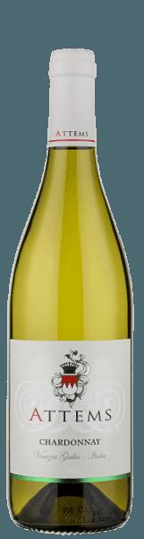 De Chardonnay uit Attems verschijnt in het glas in een helder strogeel en geleidelijk ontwikkelt zich het heerlijke bouquet van deze witte wijn: eerst een fruitige geur van banaan en abrikoos en later een lichte noot van exotisch fruit, evenals een geur van gele bloemen. Tonen van zout vervolledigen de aromatische diversiteit van deze wijn uit Italië. De smaak is levendig en evenwichtig, vol en elegant. De afdronk is harmonieus en zeer fris. Vinificatie van de Chardonnay van Attems De wijnstokken voor deze wijn groeien in wijngaarden, die midden in de vlakten en heuvels van de provincie Gorizia liggen. Een hoge lichtintensiteit draagt bij tot een optimale rijping van de druiven. De winters zijn meestal streng en de zomers mild in dit gebied bij de Adriatische Zee. Na de selectieve oogst worden de druiven voorzichtig geperst en gedurende 15 dagen bij een temperatuur van 15-18°Celsius in roestvrijstalen tanks gefermenteerd. Daarna wordt hij 4 maanden opgeslagen in roestvrijstalen tanks op de fijne gist, 20% rijpt gedurende 2 maanden in nieuwe en gebruikte barriques en de wijn rijpt nog een maand in de fles. Spijsadvies voor de Chardonnay van Attems Geniet van deze droge witte wijn bij vis met sauzen, wit vlees of bij pasta. Prijzen voor de Chardonnay von Attems (oogstjaar 2014) Bibenda: 2 druiven Wine Spectator: 90 punten
