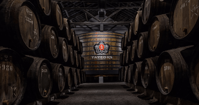 The maturing cellar of Taylor's Port