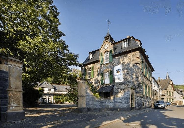 The Weingut Schloss Lieser on the Moselle