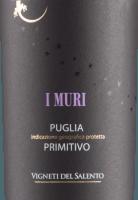 Voorvertoning: I Muri Primitivo Puglia IGP 2020 - Vigneti del Salento