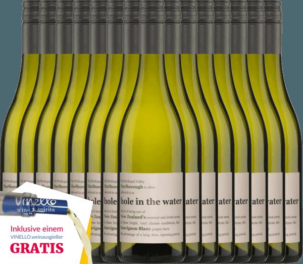 De Hole in the Water Sauvignon Blanc van Konrad Wines heeft een prachtige harmonie tussen de frisse aroma's en de levendige zuurgraad. De neus en het gehemelte worden bedorven door tonen van kruisbessen, vers gemaaid gras en tropisch fruit. Geniet nu van deze Nieuw-Zeelandse witte wijn met ons voordeelpakket van 15. Meer informatie over deze wijn uit Nieuw-Zeeland is te vinden bij het enige artikel van deKonrad Wines Sauvignon Blanc Hole in the Water.