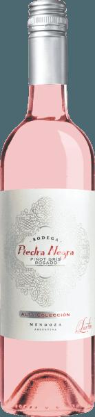 De Alta Colleción Rosado van Bodega Piedra Negratoont zich in een helder glanzend roze met glinsterende accenten. Deze Argentijnse rosé straalt een fris bouquet uit met frisse aroma's van citrusvruchten, knapperige appels en sappige perziken. Dit wordt vergezeld door subtiele tonen van rode bessen en een bloemige hint van viooltjes. In de mond is deze rosé heerlijk fris en levendig met een perfect samenspel van fruit en zuurgraad. Een zeer charmante wijn met een frisse, medium afdronk. Aanbevolen voedsel voor de Piedra Negra Alta ColleciónRosado Serveer deze droge rosé wijn uit Argentinië goed gekoeld als aperitief of bij frisse salades en vers gegrilde groenten. Een heerlijke terraswijn die heerlijk is om met familie en vrienden van te genieten.