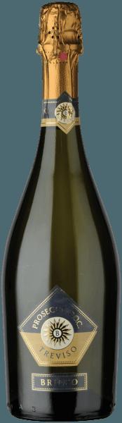 Met de Le Contesse Brioso Prosecco Spumante komt een eersteklas Prosecco Spumante in het wijnglas. Hij heeft een schitterende, platina-gele kleur. De perlage van deze Prosecco Spumante glinstert in het glas vitaal en langdurig. Deze Prosecco Spumante flatteert ook het oog met reflexen In het glas toont deze Prosecco Spumante van Le Contesse aroma's van lelies, kweepeer, roos, limoen en jasmijn, aangevuld met andere fruitige nuances. Deze droge Prosecco Spumante van Le Contesse is ideaal voor puristen die hun wijn niet droog genoeg kunnen drinken. Lichtvoetig en veelzijdig presenteert deze knisperende en lichte Prosecco Spumante zich in de mond. De afdronk van deze Prosecco Spumante uit de wijnstreek Veneto, meer precies uit Prosecco DOC, die in staat is te rijpen, inspireert uiteindelijk met een prachtige galm. De afdronk gaat ook vergezeld van minerale tonen van de kalksteen en klei gedomineerde bodems. Vinificatie van de Brioso Prosecco Spumante van Le Contesse De elegante Brioso Prosecco Spumante uit Italië is een single-varietal wijn, gevinifieerd van het druivenras Glera. In Veneto groeien de wijnstokken die de druiven voor deze wijn voortbrengen op bodems van klei en kalksteen. Na de oogst worden de druiven snel naar de wijnmakerij gebracht. Hier worden ze gesorteerd en zorgvuldig uit elkaar gehaald. Vervolgens vindt de gisting van de basiswijnen plaats. Spijs aanbeveling voor Le Contesse Brioso Prosecco Spumante Deze Italiaanse wijn wordt het best gedronken zeer goed gekoeld op 5 - 7°C. Hij is perfect als begeleidende wijn bij spaghetti met yoghurt-muntpesto, geroosterde forel met gemberpeer of kokos-limoen viscurry.