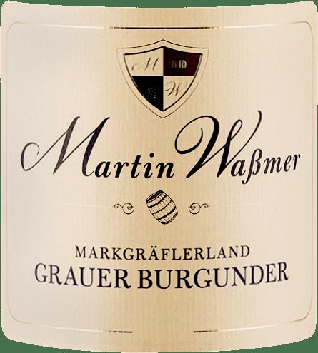 De Pinot Gris SW dry van Martin Waßmer komt in het glas met een elegante licht goudgele en citrusgele weerschijn en onthult in de neus rijpe appel, knapperig peerfruit, wat gebakken appel en ander geel fruit. Kruidige tonen van verse hazelnoten, boterachtige koekjes, toffee en wat vanille. In de mond is de Pinot Gris SW van Martin Waßmer helder, sappig en vol van smaak. Deze Pinot Gris is een dichte witte wijn met veel kracht en sterkte, die een duidelijke romigheid vertoont. Vinificatie van de Martin Waßmer Pinot Gris SW De Pinot Gris selectiewijnen worden geproduceerd met een opbrengst van slechts 35 tot 40 hectoliter per hectare en worden gerijpt in barriques van Frans eikenhout. De druiven voor deze Pinot Gris komen van wijngaarden met kalksteen, bedekt met leem en löss. Spijsadvies voor de Pinot Gris SW van Martin Waßmer Geniet van deze krachtige wijn bij varkensmedaillons met roomsaus, bij gevogelte met gestoofde groenten of gewoon op zichzelf.