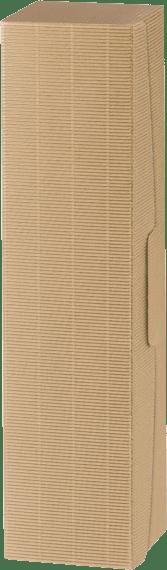 1er Präsentkarton offene Welle natur