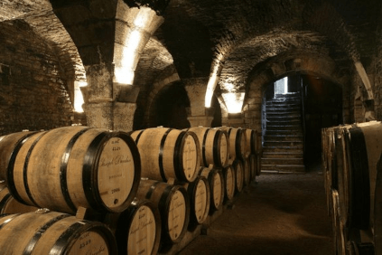 The cellar of the canons in Beaune