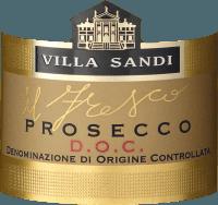 Voorvertoning: il Fresco Prosecco Spumante Brut DOC 0,2 l Piccolo - Villa Sandi
